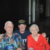 Bill Cunningham - the fist man on the Kearsarge in 1946 and Dale Maddy - the last man on the ship in 1970.  Bills wife Ruth